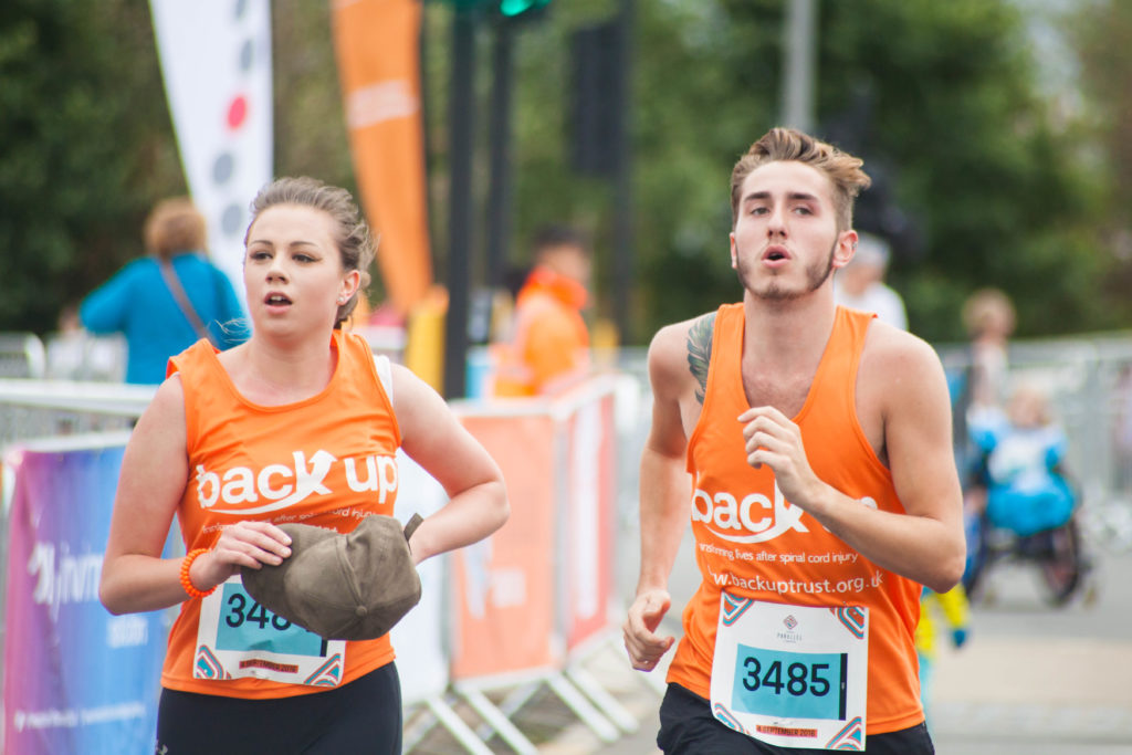 Two runners at Parallel London